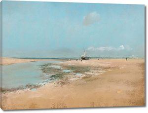 Дега - Пляж во время отлива