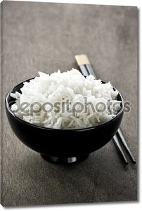 Чаша для риса и палочками