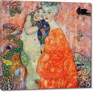 Густав Климт. Подруги (Погибла в пожаре 1945)