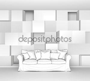 Векторная иллюстрация 3d кубов, легко редактируемые