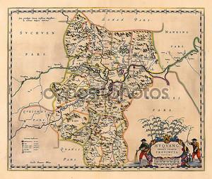 Старый экземпляр карты