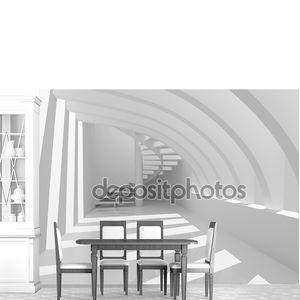 современный зал