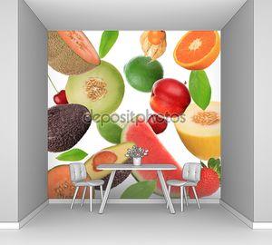 фон фруктовый