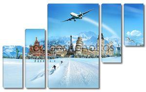 путешествия - зимнего сезона