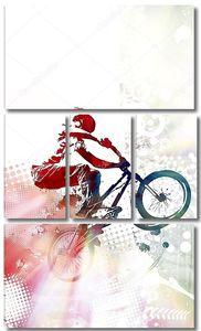 Иллюстрация BMX