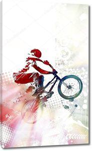 Гонщик BMX