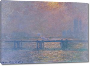 Моне Клод. Чаринг Кросс -Бридж, Темза, 1903