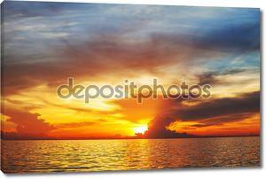 Красивейший морской закат