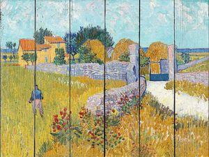 Ван Гог. Фермерский дом в Провансе