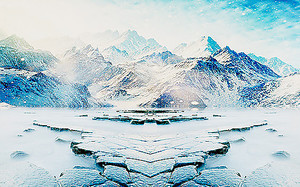 Заснеженное плато