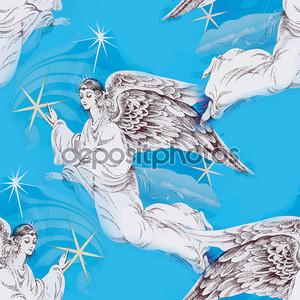 Рождественские Ангелы карта