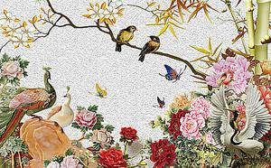 Китайские птицы