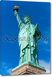 Статуя свободы. Нью-Йорк, США.