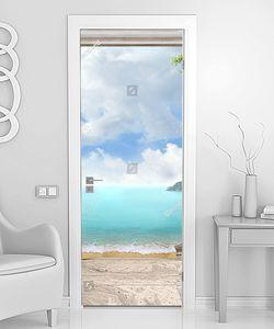 Лестница прямо к морю