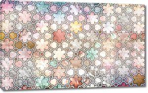 Цветочная мозаика