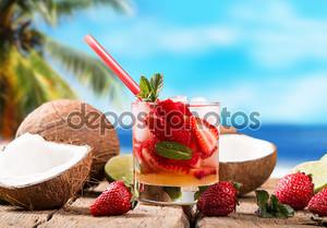 Летний напиток, Клубничный Мохито