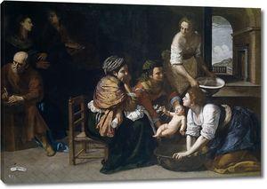 Артемизия Джентилески. Рождение Святого Иоанна Крестителя