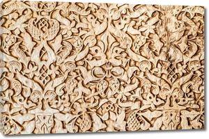Золотой узор в арабском стиле