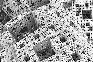 абстрактный деловой научный или технологический фон