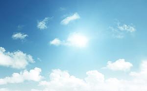 Облачка на небе