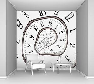Абстрактные часы бесконечности