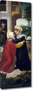 Корреа де Вивар Хуан. Встреча Марии и Елизаветы