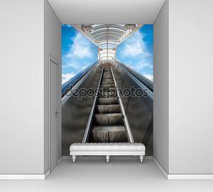 Эскалаторы. Движущихся лестница в небеса. Бизнес-возможности для успеха