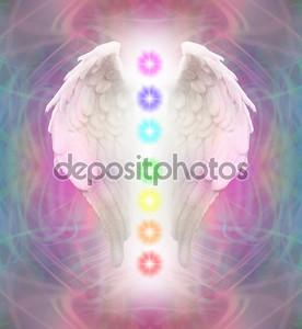 Крылья ангела и семь чакр