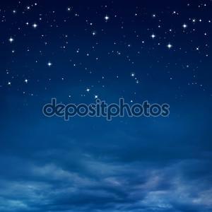 Звёзды в ночном небе