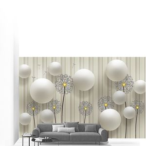 Одуванчики и шары