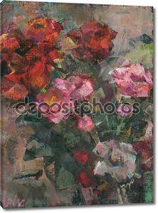 Классический рисунок с цветами