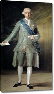 Гойя и Лусиентес Франсиско де. Хосе Монино у Редондо, граф Флоридабланка
