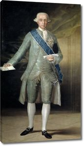 Гойя и Лусиентес Франсиско де. Хосе Монино и Редондо, граф Флоридабланка