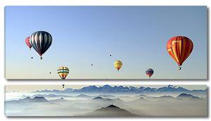 Воздушные шары над вершинами