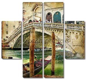 Цвета Венеции - работа в живописи стиль из моей итальянской серии