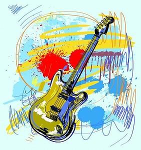 Абстрактные гитара