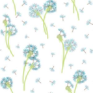 Голубые одуванчики