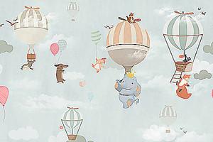 Воздушные шары с животными