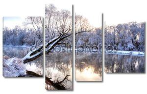 Зимняя река 5
