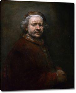 Рембрандт. Автопортрет в возрасте 63 лет