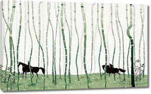Всадники в бамбуке