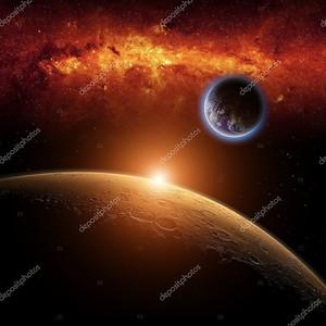 Марс, Планета Земля