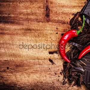 Шоколад и красный перец
