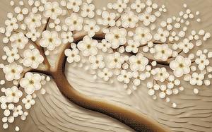 Цветы сакуры рисованные