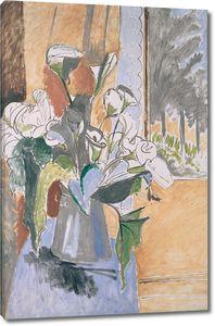 Матисс Анри. Букет цветов на веранде
