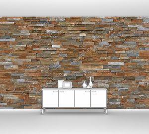 Часть природной каменной стены, как фон