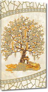 Дерево с золотыми плодами