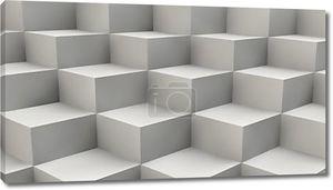 Абстрактный фон кубы