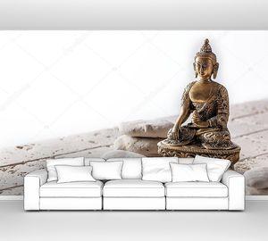 Буддизм и памятование символизируют медитацию и благополучие, копируют пространство