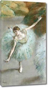 Дега - Танцовщица в зеленом